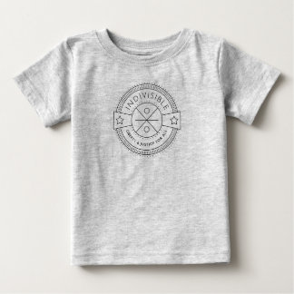 Indivisible, with liberty and justice for all. baby T-Shirt