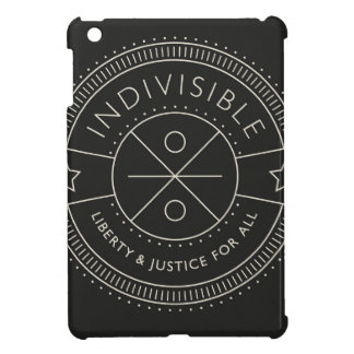 Indivisible, with liberty and justice for all. iPad mini case