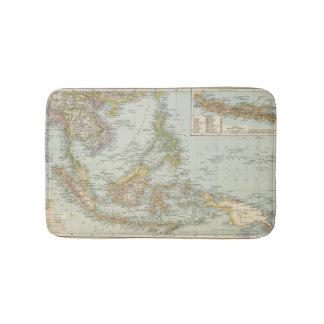 Indo china and Malaysian Archipelago Bathroom Mat