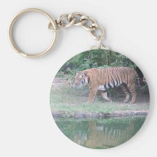 Indochinese Tiger Keychain
