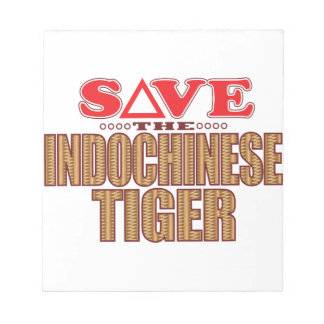 Indochinese Tiger Save Notepad
