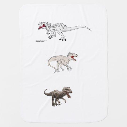 indominous rex collection baby blanket