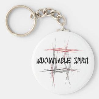 Indomitable Spirit Key Chain