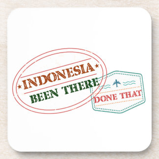Indonesia Been There Done That Beverage Coaster
