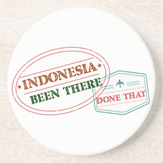 Indonesia Been There Done That Drink Coasters