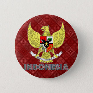 Indonesia Coat of Arms 2 Inch Round Button