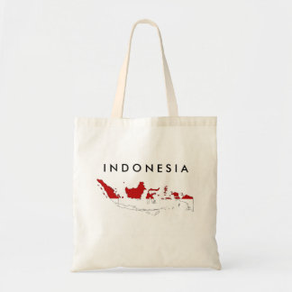 Indonesia country flag map shape silhouette