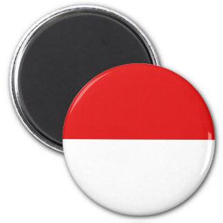 Indonesia Fisheye Flag Magnet