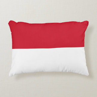 Indonesia Flag Accent Pillow