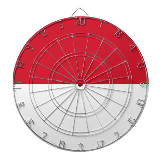Indonesia Flag Dartboard