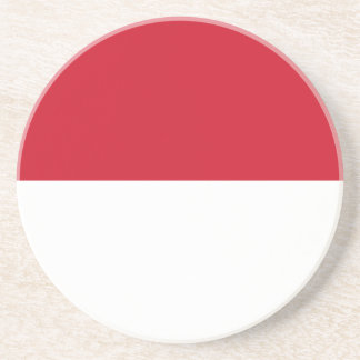 Indonesia Flag Drink Coasters