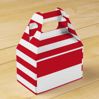 Indonesia Flag Favor Box