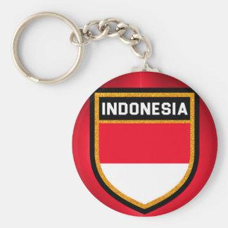 Indonesia Flag Keychain