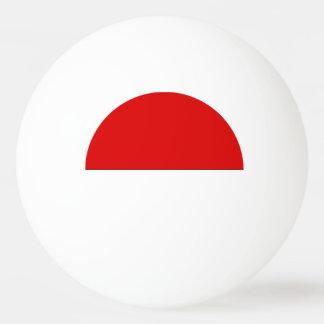Indonesia Flag Ping-Pong Ball