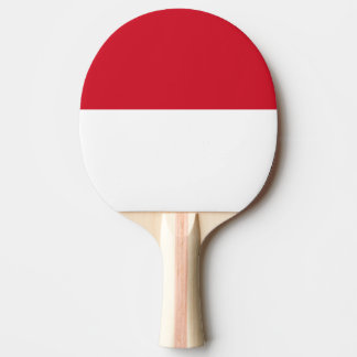 Indonesia Flag Ping Pong Paddle