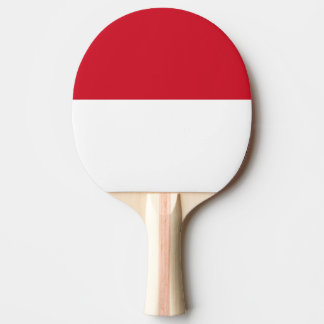 Indonesia Flag Ping-Pong Paddle