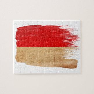 Indonesia Flag Puzzles