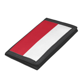 Indonesia Flag Trifold Wallet