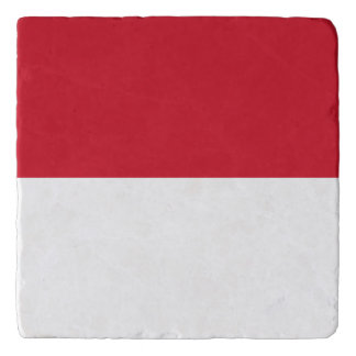 Indonesia Flag Trivet