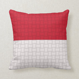 Indonesia Indonesian flag Throw Pillow