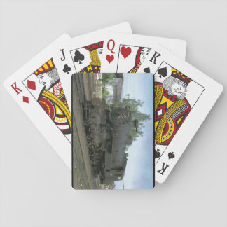 Indonesia, ISRy 4-6-4 T #_Trains of the World Playing Cards