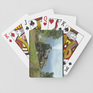 Indonesia, ISRy 4-6-4 T_Trains of the World Poker Deck