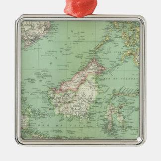 Indonesia, Malaysia Metal Ornament