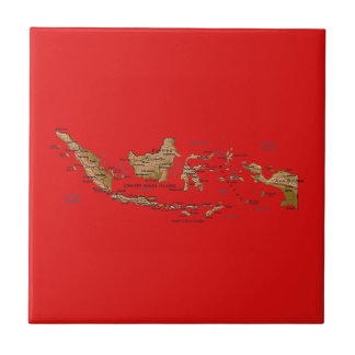 Indonesia Map Tile
