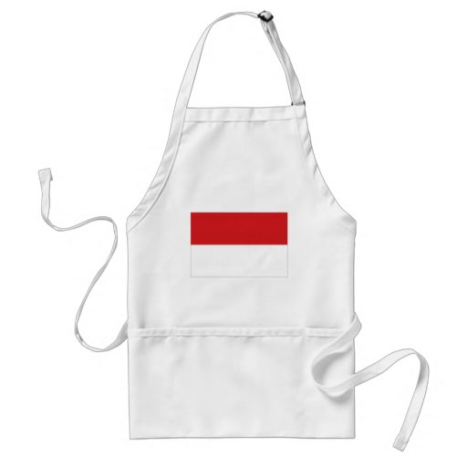 Indonesia National Flag Aprons