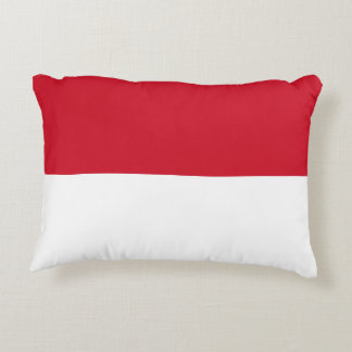 Indonesia National World Flag Accent Pillow
