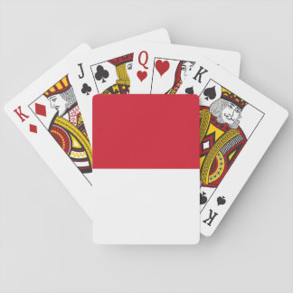 Indonesia National World Flag Playing Cards