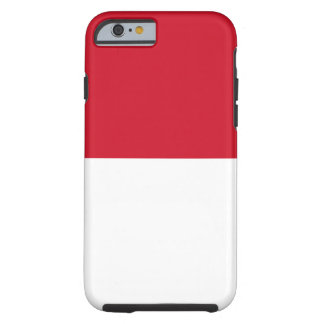 Indonesia National World Flag Tough iPhone 6 Case