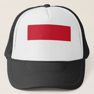 Indonesia National World Flag Trucker Hat