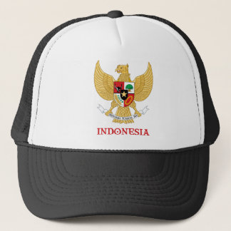 INDONESIA - seal/emblem/blazon/coat of arms/symbol Trucker Hat