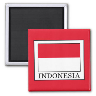 Indonesia Square Magnet