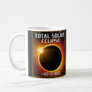 Indonesia Total Solar Eclipse (2016) Coffee Mug