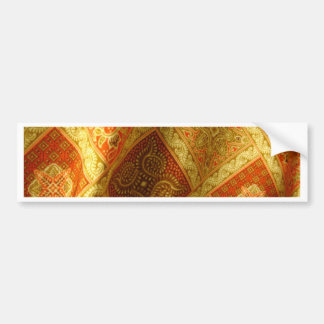 Indonesian Batik Bumper Sticker