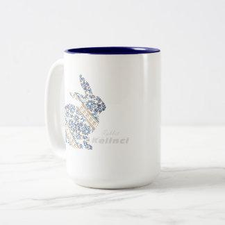 Indonesian Batik Culture Two-Tone Coffee Mug