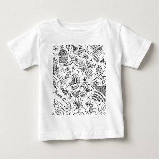 Indonesian Insects & Plants Textile Pattern Baby T-Shirt