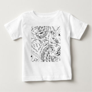 Indonesian Plants and Animals Textile Baby T-Shirt