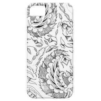 Indonesian Plants and Animals Textile iPhone 5 Cover