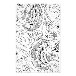 Indonesian Plants and Animals Textile Stationery
