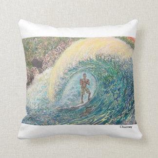 Indonesian Prayer Surf Art Pillow