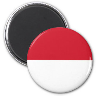 Indonesian pride 2 inch round magnet