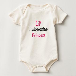 Indonesian princess baby bodysuit