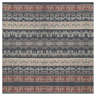 Indonesian Tribal Ikat Textiles Weavings Indonesia Fabric
