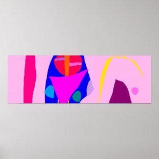 Indoor Abstract Relation Romantic Sweet Liquid Poster