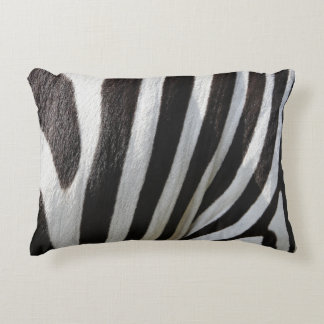 Indoor Accent Pillow - Black & White Zebra Print