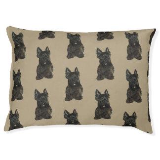 Indoor Dog Bed - Large, Scottish Terrier