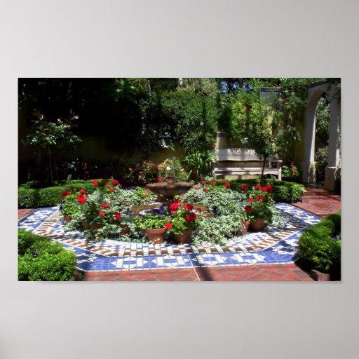 Indoor Garden Print